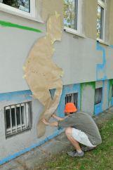 12.II Dzień malowania muralu z Pogromcami Bazgrołów (foto - A Naider)