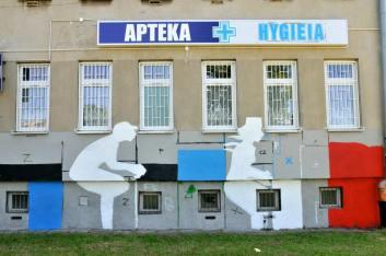 14.II Dzień malowania muralu z Pogromcami Bazgrołów (foto - A Naider)