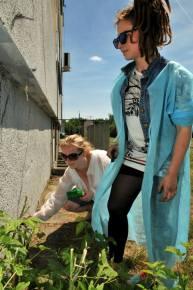 20.II Dzień malowania muralu z Pogromcami Bazgrołów (foto - A Naider)