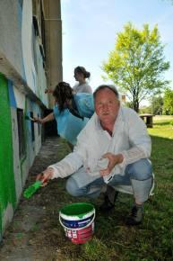 4.II Dzień malowania muralu z Pogromcami Bazgrołów (foto - A Naider)