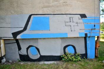 8.II Dzień malowania muralu z Pogromcami Bazgrołów (foto - A Naider)