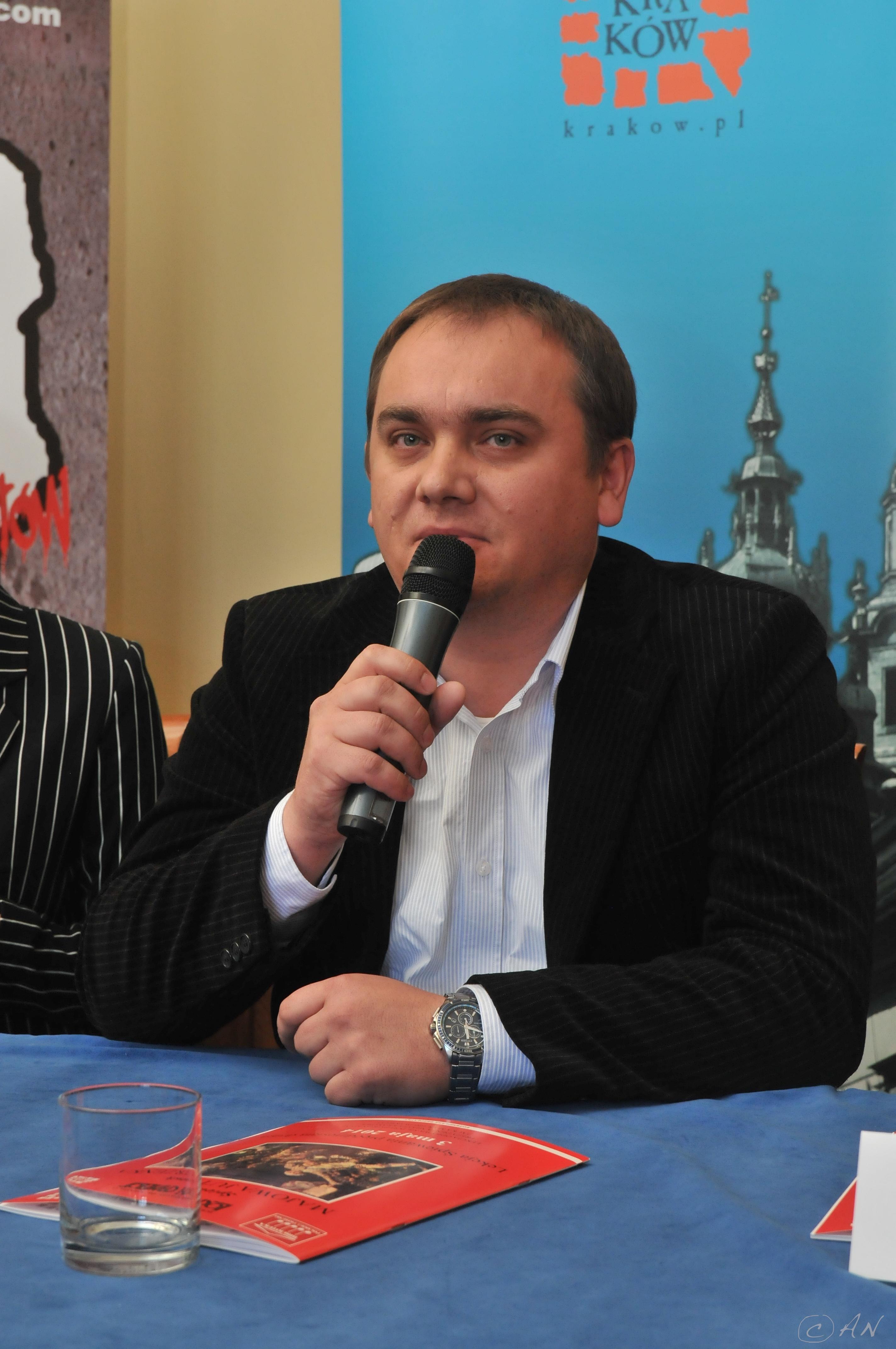 Grzegorz Tokarz Dyrektor Leroy Merlin Bonarka Pogromcy Bazgrolow