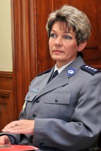 Joanna Satora – specjalista Wydziału Prewencji KMP w Krakowie