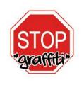 Stop graffiti logo