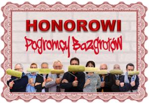 honorowi pogromcy bazgrołów